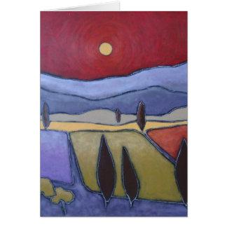 Mont Ventoux II Art Card