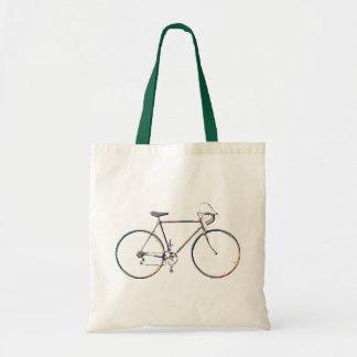 monta en bicicleta respetuoso del medio ambiente bolsa tela barata