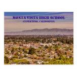 Monta Vista High School Cupertino, CA Postcard