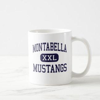 Montabella - mustangos - alto - Blanchard Michigan Taza Clásica