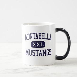Montabella - mustangos - alto - Blanchard Michigan Taza Mágica