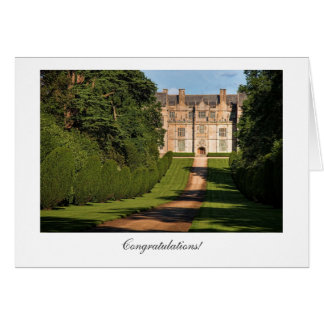 Montacute Stately Home - General Congratulations Card