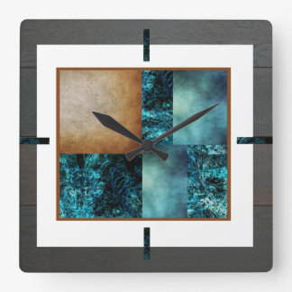 Montage Art by DVH & Co. frame Clock