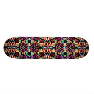 Montage Fractal Skateboard Deck