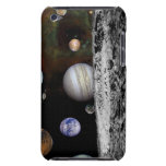 Montage of the planets and Jupiter's moons iPod Case-Mate Case
