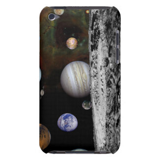 Montage of the planets and Jupiter's moons iPod Touch Case-Mate Case