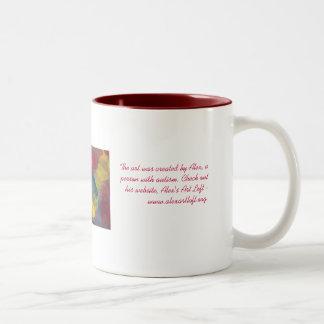 Montage w description Two-Tone coffee mug
