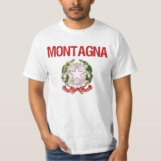 Montagna Italian Surname T-Shirt