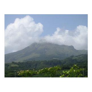 Montagne Pelée 1 - Martinique, F.W.I. Postcard