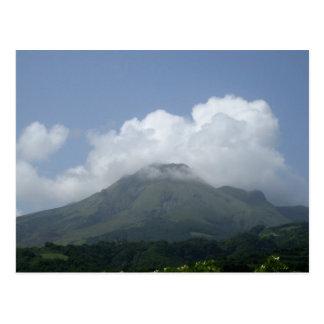 Montagne Pelée - Martinica, F.W.I. Postal