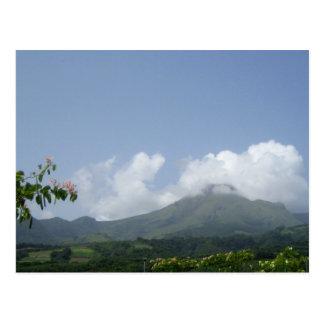 Montagne Pelée - Martinica, F.W.I. Postales