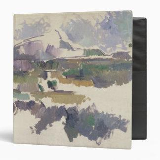 Montagne Sainte-Victoire, 1904-05 3 Ring Binder
