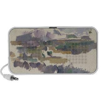 Montagne Sainte-Victoire, 1904-05 Laptop Altavoz