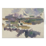 Montagne Sainte-Victoire, 1904-05 Tarjeta De Felicitación