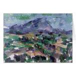 Montagne Sainte-Victoire, 1904-06 Tarjeton