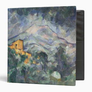 Montagne Sainte-Victoire and the Black Chateau 3 Ring Binder
