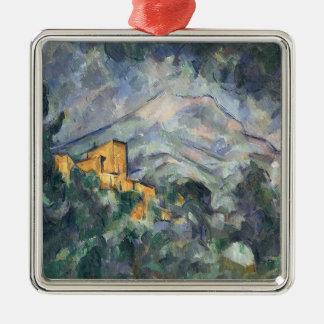 Montagne Sainte-Victoire and the Black Chateau Ornament