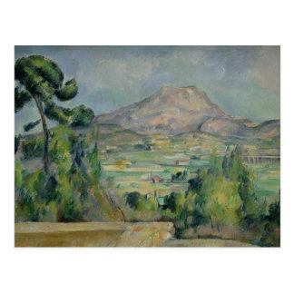 Montagne Sainte-Victoire, c.1887-90 Postcard