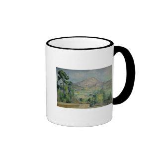 Montagne Sainte-Victoire, c.1887-90 Ringer Mug