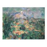 Montagne Sainte-Victoire de Lauves, 1904-06 Tarjeta Postal
