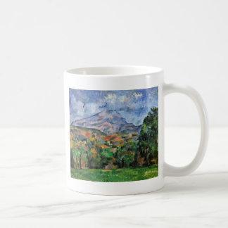 Montagne Sainte-Victoire de Paul Cézanne Tazas