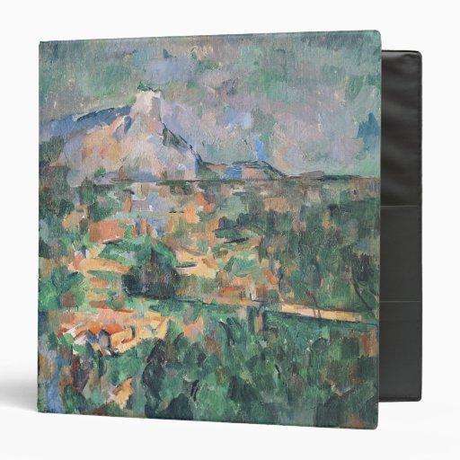 Montagne Sainte-Victoire from Lauves, 1904-06 Binders