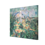Montagne Sainte-Victoire from Lauves, 1904-06 Gallery Wrapped Canvas