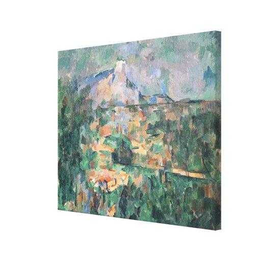 Montagne Sainte-Victoire from Lauves, 1904-06 Canvas Print