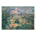 Montagne Sainte-Victoire from Lauves, 1904-06 Greeting Card