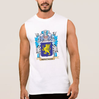 Montague Coat of Arms - Family Crest Sleeveless Tees