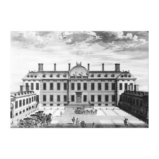 Montague House, Great Russell Street Canvas Print