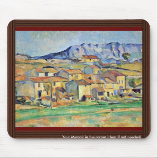 Montaigne Sainte-Victoire From The Environment Mouse Pad