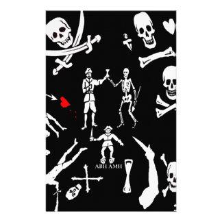 Montaje #1 del pirata papelería de diseño