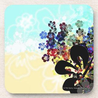 Montaje de la flor posavasos