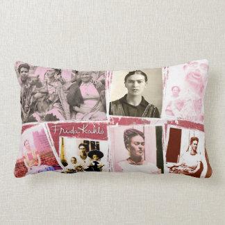 Montaje de la foto de Frida Kahlo Cojín