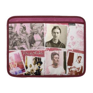 Montaje de la foto de Frida Kahlo Funda Para Macbook Air