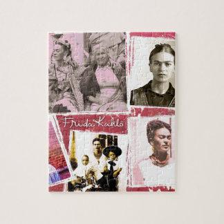 Montaje de la foto de Frida Kahlo Puzzles Con Fotos
