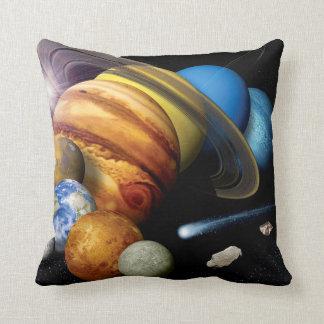 Montaje de la Sistema Solar Cojín