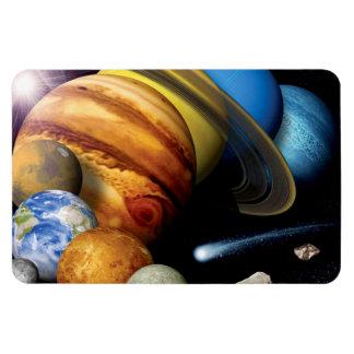 Montaje de la Sistema Solar Iman Flexible