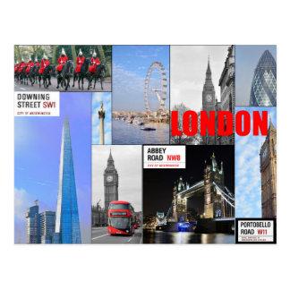 Montaje de Londres Tarjetas Postales