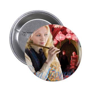 Montaje de Luna Lovegood Pin Redondo De 2 Pulgadas