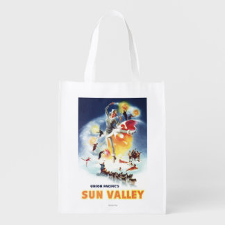 Montaje de Sonja Henje del poster de Sun Valley Bolsa Reutilizable