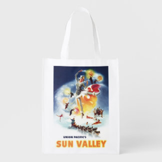 Montaje de Sonja Henje del poster de Sun Valley Bolsas De La Compra