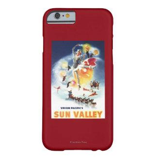 Montaje de Sonja Henje del poster de Sun Valley Funda De iPhone 6 Barely There