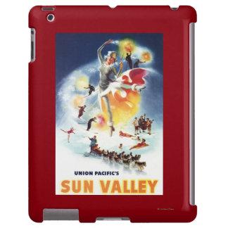 Montaje de Sonja Henje del poster de Sun Valley Funda Para iPad