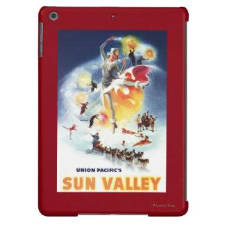 Montaje de Sonja Henje del poster de Sun Valley Funda Para iPad Air