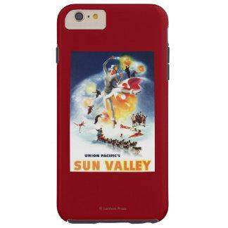 Montaje de Sonja Henje del poster de Sun Valley Funda Para iPhone 6 Plus Tough