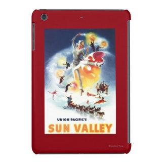 Montaje de Sonja Henje del poster de Sun Valley Fundas De iPad Mini