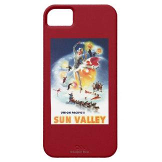 Montaje de Sonja Henje del poster de Sun Valley iPhone 5 Funda