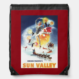 Montaje de Sonja Henje del poster de Sun Valley Mochilas